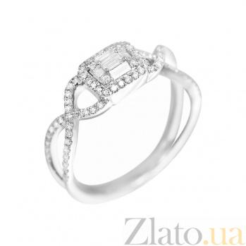 Кольцо из белого золота Катрина с бриллиантами 000081026