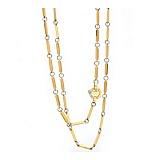 Золотая цепь в комбинированном цвете Фримонт