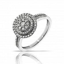 Кольцо из белого золота Джоннита с бриллиантами