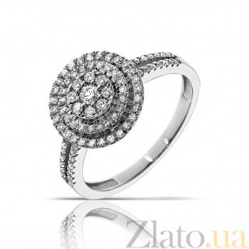 Кольцо из белого золота Джоннита с бриллиантами 000045953