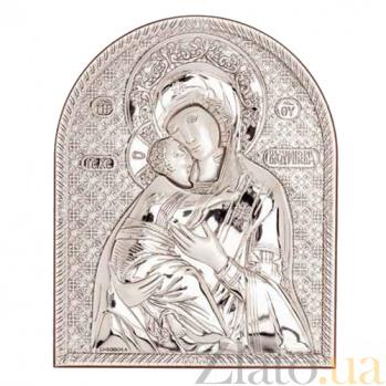 Владимирская икона серебряная Божьей Матери AQA--09152221