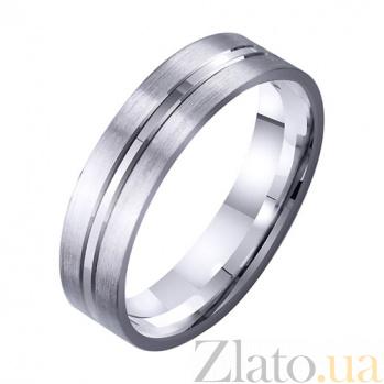Золотое обручальное кольцо Дама сердца TRF--4211717