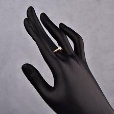 Кольцо в красном золоте Сюрприз с фианитами