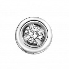 Серебряная подвеска с бриллиантом Mini