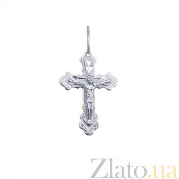 Серебряный крест Добрый дух AQA--3754-б