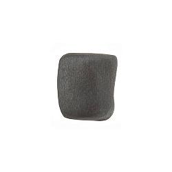 Серебряная серьга-пуссета Фанк с чернением