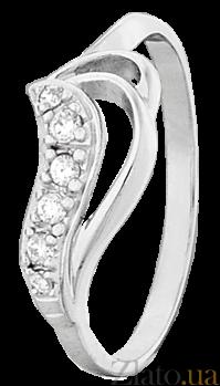 Кольцо из серебра с фианитами Орабелла 000025821