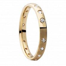 Обручальное кольцо с бриллиантами Path of happiness