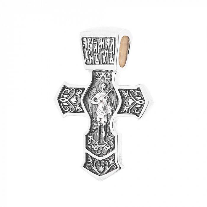 Серебряный крестик Сокровище благих 000063016