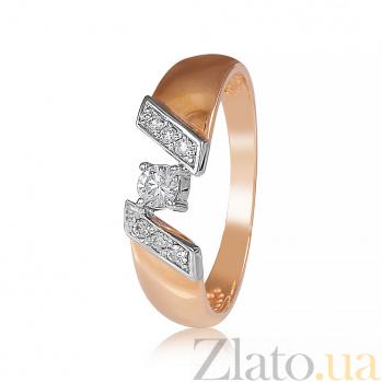 Золотое кольцо с бриллиантами Джудит EDM-КД7523
