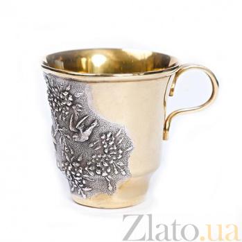 Серебряная чашка Весенний лес 103