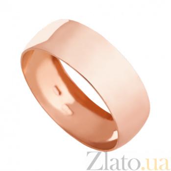 Обручальное кольцо из красного золота Classic wedding VLN--318-1152