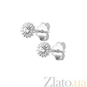 Серебряные сережки Шаелин SLX--С1СТ/611