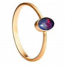 Золотое кольцо Мельбурн с опалом