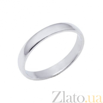 """Обручальное серебряное кольцо """"Дива"""" AQA--1070"""