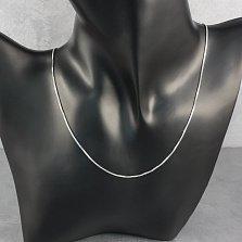 Серебряная цепочка Элизабет венецианского плетения, 1мм