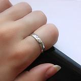 Серебряное кольцо Властелин колец