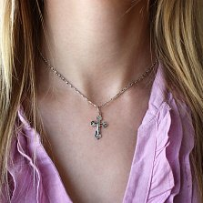 Серебряный крест Молитва