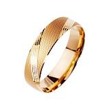 Золотое обручальное кольцо Мое желание