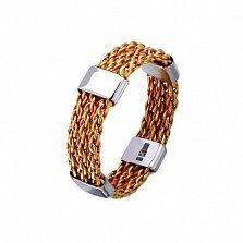 Золотое обручальное кольцо Неразрывные брачные узы