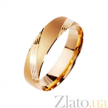 Золотое обручальное кольцо Мое желание TRF--411296