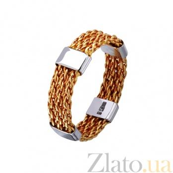 Золотое обручальное кольцо Неразрывные брачные узы TRF--421724