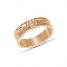 Золотое обручальное кольцо Сладкая жизнь
