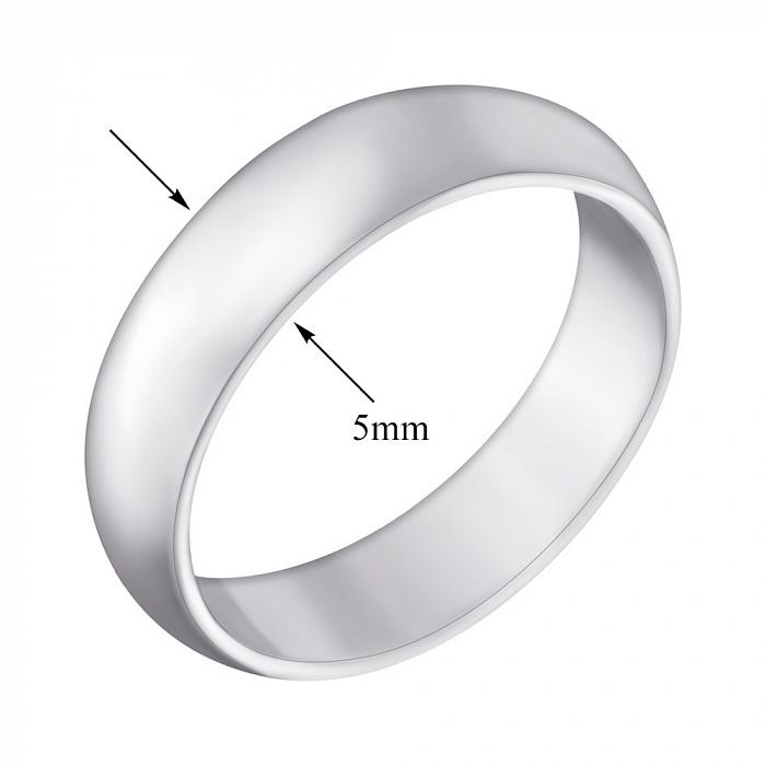 Серебряное обручальное кольцо Европейка 000032388