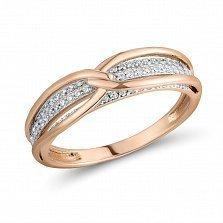 Кольцо Белла из золота с бриллиантами
