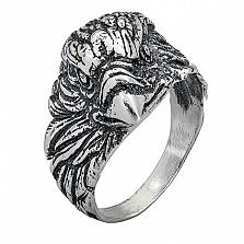 Серебряное кольцо Орел