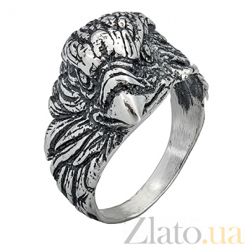 Серебряное кольцо Орел ONX--11284