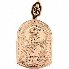 Золотая ладанка Святитель Николай
