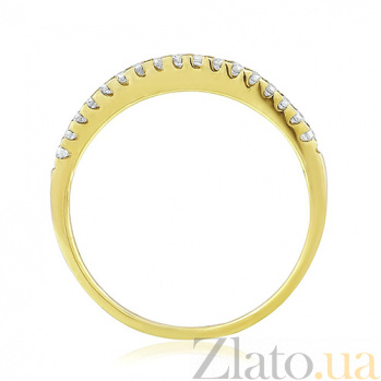 Золотое кольцо с бриллиантами Энигма EDM--КД7455/2
