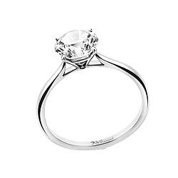 Золотое кольцо Лолита с аквамарином 000020912