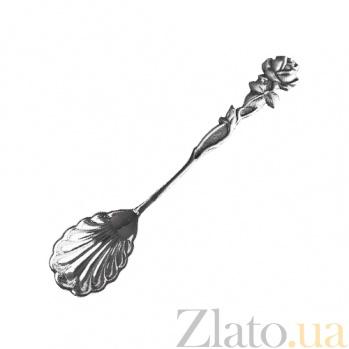 Серебряная ложка Розалия 000020987