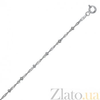 Серебряная цепь Атланта, 50 см 000027460