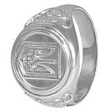 Перстень из серебра Патриот Украины