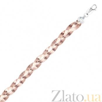 Серебряный браслет с позолотой Джулия 000025955