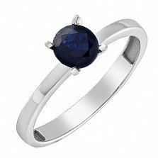 Золотое кольцо Андреа с сапфиром