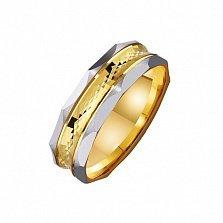 Золотое обручальное кольцо Мой стиль