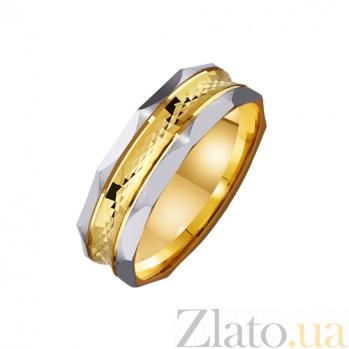 Золотое обручальное кольцо Мой стиль TRF--4411516
