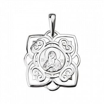 Серебряная ладанка Хранительница 000130268