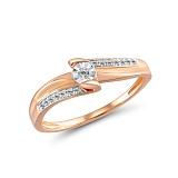 Кольцо из золота с бриллиантами Фредерика