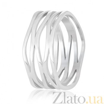 Кольцо из серебра Соланж 000030893