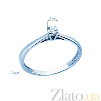 Кольцо обручальное AQA--1190002 Бр