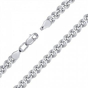 Срібний браслет, 4,5 мм 000118115