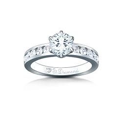 Золотое кольцо с аквамарином и бриллиантами Поздний сбор
