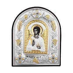 Икона Ангел Хранитель с серебрением 000140346
