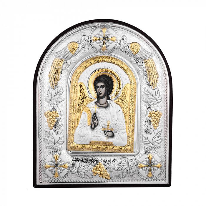 Икона Ангел Хранитель с серебрением 000140346 000140346