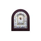 Серебряная икона с позолотой Семистрельная
